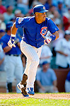 3 July 2005: Aramis Ramirez, All-Star third baseman for the Chicago Cubs, goes 2 for 5 during a game against the Washington Nationals. The Nationals defeated the Cubs 5-4 in 12 innings to sweep the 3-game series at Wrigley Field in Chicago, IL. Mandatory Photo Credit: Ed Wolfstein