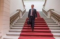"""2. Sitzungstag des Berliner """"Amri-Untersuchungsausschuss"""".<br /> Am Freitag den 8. September 2017 fand die 2. Sitzung des sogenannte """"Amri-Untersuchungsausschuss des Berliner Abgeordnetenhaus. Statt. Der 1. Untersuchungsausschuss der 18. Wahlperiode will versuchen die diversen Unklarheiten im Fall des Weihnachtsmarkt-Attentaeters zu aufzuklaeren.<br /> Im Bild: Der Ausschussvorsitzende Burkard Dregger, CDU.<br /> 8.9.2017, Berlin<br /> Copyright: Christian-Ditsch.de<br /> [Inhaltsveraendernde Manipulation des Fotos nur nach ausdruecklicher Genehmigung des Fotografen. Vereinbarungen ueber Abtretung von Persoenlichkeitsrechten/Model Release der abgebildeten Person/Personen liegen nicht vor. NO MODEL RELEASE! Nur fuer Redaktionelle Zwecke. Don't publish without copyright Christian-Ditsch.de, Veroeffentlichung nur mit Fotografennennung, sowie gegen Honorar, MwSt. und Beleg. Konto: I N G - D i B a, IBAN DE58500105175400192269, BIC INGDDEFFXXX, Kontakt: post@christian-ditsch.de<br /> Bei der Bearbeitung der Dateiinformationen darf die Urheberkennzeichnung in den EXIF- und  IPTC-Daten nicht entfernt werden, diese sind in digitalen Medien nach §95c UrhG rechtlich geschuetzt. Der Urhebervermerk wird gemaess §13 UrhG verlangt.]"""