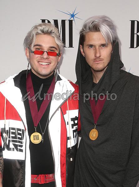 14 May 2019 - Beverly Hills, California - Michael Trewartha, Kyle Trewartha. 67th Annual BMI Pop Awards held at The Beverly Wilshire Four Seasons Hotel. Photo Credit: Faye Sadou/AdMedia