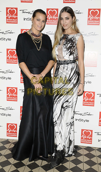 LONDON, ENGLAND - NOVEMBER 12: Yasmin Le Bon &amp; Amber Le Bon attends the Tunnel Of Love 3rd annual fashion fundraiser dinner, One Mayfair,  November 12, 2013 in London, England, UK.<br /> CAP/CAN<br /> &copy;Can Nguyen/Capital Pictures