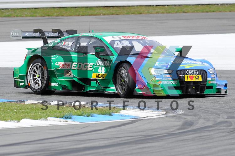 # 48 Edoardo Mortara auf Audi RS5 DTM vom Audi Sport Team Abt Sportsline  beim Rennen der DTM auf dem Hockenheimring.<br /> <br /> Foto &copy; P-I-X.org *** Foto ist honorarpflichtig! *** Auf Anfrage in hoeherer Qualitaet/Aufloesung. Belegexemplar erbeten. Veroeffentlichung ausschliesslich fuer journalistisch-publizistische Zwecke. For editorial use only.