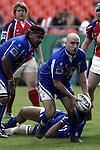 30 April 2005: Kansas City's Scrumhalf Vince Pastorino. The Kansas City Blues defeated the Philadelphia Whitemarsh RFC 41-14 at the Arrowhead Stadium in Kansas City, Missouri in a Rugby Super League regular season game. .