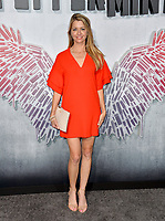 "LOS ANGELES, CA. August 28, 2018: Jamie Anderson at the world premiere of ""Peppermint"" at the Regal LA Live."