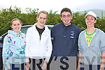 Paula Moynihan, Angela Cronin, Aidan O'Leary and Elaine Greaney Rathmore who ran in the 20th annual Kilgobnet 4mile race on Friday evening