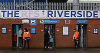 Blackburn Rovers fans arrive at Ewood Park before the kick off <br /> <br /> Photographer Stephen White/CameraSport<br /> <br /> The EFL Sky Bet League One - Blackburn Rovers v Doncaster Rovers - Saturday August 12th 2017 - Ewood Park - Blackburn<br /> <br /> World Copyright &copy; 2017 CameraSport. All rights reserved. 43 Linden Ave. Countesthorpe. Leicester. England. LE8 5PG - Tel: +44 (0) 116 277 4147 - admin@camerasport.com - www.camerasport.com