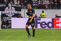Gelb-Rot  Dominik Kohr (Eintracht Frankfurt) - 19.09.2019:  Eintracht Frankfurt vs. Arsenal London, UEFA Europa League, Gruppenphase, Commerzbank Arena<br /> DISCLAIMER: DFL regulations prohibit any use of photographs as image sequences and/or quasi-video.