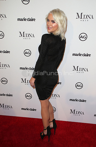 WEST HOLLYWOOD, CA - JANUARY 11: Gigi Gorgeous at Marie Claire's Third Annual Image Makers Awards at Delilah LA in West Hollywood, California on January 11, 2018. Credit: Faye Sadou/MediaPunch