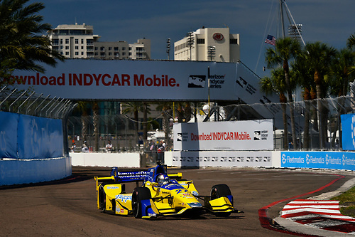 11-13 March, 2016, St Petersburg, Florida USA<br /> 27 Marco Andretti<br /> ©2016 Scott R LePage <br /> LAT Photo USA