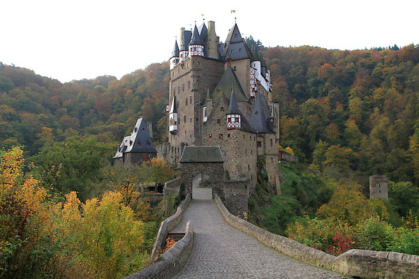 Burg Eltz Castle along the Mosel River Valley, France