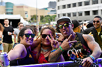 Tomorrow People performing at Jim Beam Homegrown, Wellington Waterfront, New Zealand on Saturday 7 April 2018.<br /> Photo by Masanori Udagawa. <br /> www.photowellington.photoshelter.com