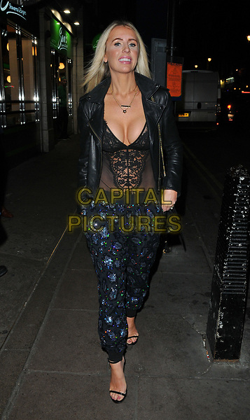 Naomi Isted at the YOSHIAKI by DSTRKT restaurant launch party, DSTRKT, Rupert Street, London, England, UK, on Tuesday 28 March 2017.<br /> CAP/CAN<br /> &copy;CAN/Capital Pictures