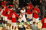 Mar 12, 2010; Greensboro, NC, USA; Maryland Terrapins against the Georgia Tech Yellow Jackets in the quarterfinal round of the ACC Tournament at the Greensboro Coliseum. Bob Donnan