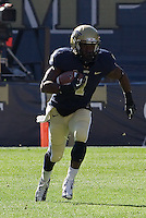 Pitt running back Ray Graham. The Louisville Cardinals defeated the Pitt Panthers 45-35 at Heinz Field, Pittsburgh PA on October 13, 2012.
