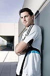 Real Madrid's Iker Casillas portraits, April 24, 2009. (ALTERPHOTOS/Alvaro Hernandez).