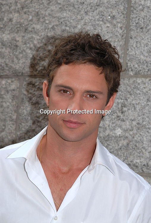 David Fumero ..outside One Life to Live on September 21, 2007 in New York City.  Timbaland was performing on the show. .. Photo by Robin Platzer, Twin Images......212-935-0770