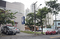 SAO PAULO, SP - 06.05.2015 - EXPLOSÃO-CAIXA ELETRONICO - Bandidos destroem caixa eletrônico com explosivos na madrugada desta quarta-feira,06 dentro das instalações de um hipermercado no bairro do Morumbi, zona sul da cidade de São Paulo. Parte das instalações do mercado foram isoladas, ainda não há informações sobre os infratores e valores que foram roubados. (Foto: Fabricio Bomjardim / Brazil Photo Press)