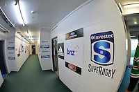 Super Rugby - Hurricanes v Blues at FMG Stadium, Palmerston North, New Zealand on Friday 13 March 2015. <br /> Photo by Masanori Udagawa. <br /> www.photowellington.photoshelter.com.