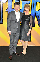 Andy Serkis and Lorraine Ashbourne at the &quot;Black Panther&quot; European film premiere, Hammersmith Apollo (Eventim Apollo), Queen Caroline Street, London, England, UK, on Thu 08 February 2018.<br /> CAP/CAN<br /> &copy;CAN/Capital Pictures