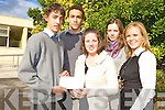 Shane Walsh, Ultan Dillane, Michelle O'Keeffe (winner), Caitriona Kelliher and Aileen Somers.