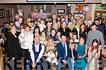 New Arrival<br /> ---------------<br /> Mary Barrett, Castleisland and Joe Reynolds, Tralee had a great celebration in O'Riada's bar, Ballymac after Christening their third baby Mya at St Stevens and John's Church, Castleisland by Fr Dan O'Riordan last Saturday evening.