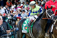 LOUISVILLE, KY - MAY 06: on Kentucky Derby Day at Churchill Downs on May 6, 2017 in Louisville, Kentucky. (Photo by Mary Meek/Eclipse Sportswire/Getty Images)