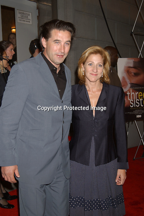 Billy Baldwin and Edie Falco                                           ..at the 6th Annual New York City Gala to benefit Project ALS on October 20, 2003 at the Hammerstein Ballroom ...Photo by Robin Platzer, Twin Images