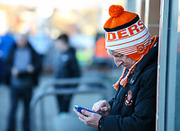 Blackpool fans arrive at Bloomfield Road for the game<br /> <br /> Photographer Alex Dodd/CameraSport<br /> <br /> The EFL Sky Bet League One - Blackpool v Sunderland - Tuesday 1st January 2019 - Bloomfield Road - Blackpool<br /> <br /> World Copyright © 2019 CameraSport. All rights reserved. 43 Linden Ave. Countesthorpe. Leicester. England. LE8 5PG - Tel: +44 (0) 116 277 4147 - admin@camerasport.com - www.camerasport.com