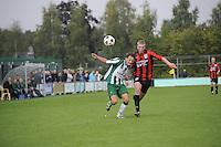 VOETBAL: JOURE: Sportpark Hege Simmerdyk, 13-09-2015, SC Joure zat- QVC, Eindstand 3-2, ©foto Martin de Jong