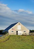 Barn, Sweetwater Farm, Martha's Vineyard, Massachusetts, USA