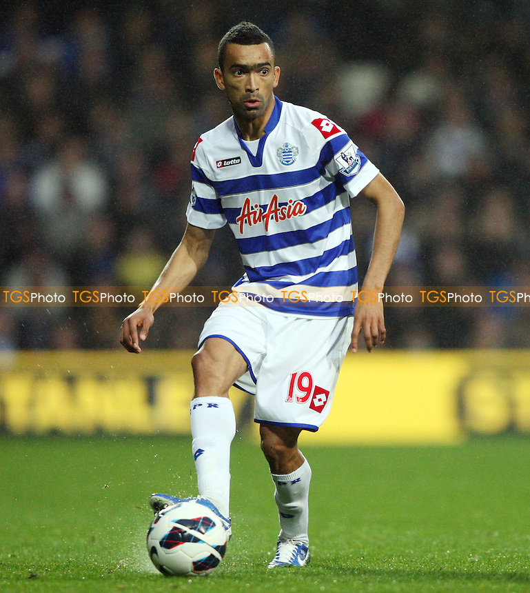 Jose Bosingwa of QPR - Queens Park Rangers vs Everton, Barclays Premier League at Loftus Road - 21/10/12 - MANDATORY CREDIT: Rob Newell/TGSPHOTO - Self billing applies where appropriate - 0845 094 6026 - contact@tgsphoto.co.uk - NO UNPAID USE.