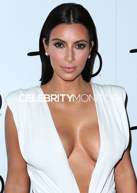 LAS VEGAS, NV, USA - OCTOBER 25: Kim Kardashian West arrives at Kim Kardashian West's 34th Birthday Celebration held at TAO Nightclub at The Venetian Las Vegas on October 25, 2014 in Las Vegas, Nevada, United States. (Photo by Xavier Collin/Celebrity Monitor)