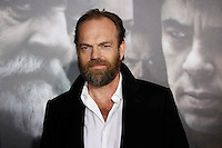 Australian actor/cast member Hugo Weaving arrives at the US/LA premiere of 'The Wolfman' in Los Angeles, California 09 February 2010. Upon his return to his ancestral homeland, an American man (Del Toro) is bitten, and subsequently cursed by, a werewolf..Photo by Nina Prommer/Milestone Photo