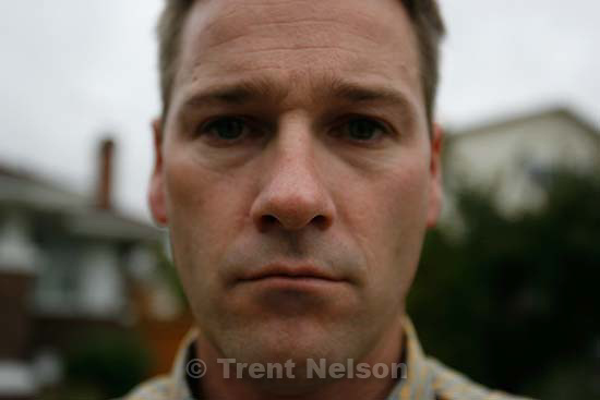 Trent Nelson self portrait<br />