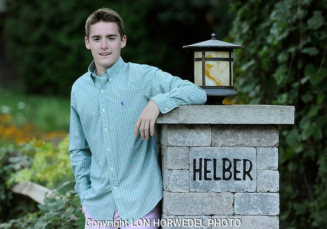 Garrette Helber senior portraits, 9-7-14.