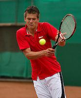 12-08-13, Netherlands, Raalte,  TV Ramele, Tennis, NRTK 2013, National RankingTennis Championships 2013,  Sander Arends<br /> <br /> Photo: Henk Koster