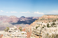 View from the Rim Trail, Mather Point, Grand Canyon, South Rim, Arizona.