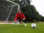 George Long of Sheffield Utd  during the training session at the Shirecliffe Training complex, Sheffield. Picture date: June 27th 2017. Pic credit should read: Simon Bellis/Sportimage