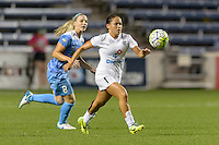 Chicago, IL - Wednesday Sept. 07, 2016: Lo'eau LaBonta during a regular season National Women's Soccer League (NWSL) match between the Chicago Red Stars and FC Kansas City at Toyota Park.