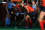 23 September 2016: Syracuse's Roos Weers (NED). The University of North Carolina Tar Heels hosted the Syracuse University Orange at Francis E. Henry Stadium in Chapel Hill, North Carolina in a 2016 NCAA Division I Field Hockey match. UNC won the game 3-2 in two overtimes.