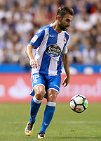 Deportivo de la Coruna's Adrian Lopez during La Liga match. August 20,2017.  *** Local Caption *** © pixathlon