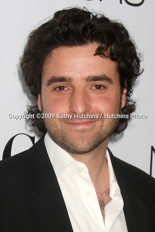 David Krumholtz arriving at the Numb3rs 100th Episode Party at the Sunset Tower Hotel in West Hollywood,  California on April 21, 2009.©2009 Kathy Hutchins / Hutchins Photo....                .