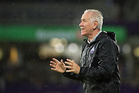 Orlando, FL - Saturday June 03, 2017:  Coach Tom Sermanni  during a regular season National Women's Soccer League (NWSL) match between the Orlando Pride and the Boston Breakers at Orlando City Stadium.