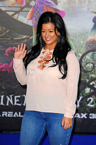 LONDON, ENGLAND - MAY 10: Lauren Murray attending the 'Alice Through The Looking Glass' European Premiere at Odeon Cinema, Leicester Square in London. on May 10, 2016 in London, England.<br /> CAP/MAR<br /> &copy; Martin Harris/Capital Pictures /MediaPunch ***NORTH AND SOUTH AMERICA ONLY***