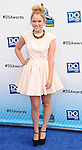 SANTA MONICA, CA - AUGUST 19: Taylor Spreitler arrives at the 2012 Do Something Awards at Barker Hangar on August 19, 2012 in Santa Monica, California.