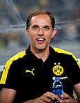 Borussia Dortmund manager Thomas Tuchel during the match against Manchester City FC during their 2016 International Champions Cup China match at the Shenzhen Stadium on 28 July 2016 in Shenzhen, China. Photo by Marcio Machado / Power Sport Images
