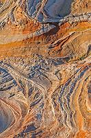 Sandstone Erosion, Vermillion Cliffs National Monument, Paria Plateau, Arizona