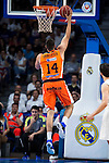 Valencia Basket's Dubljevic during the first match of the Semi Finals of Liga Endesa Playoff at Barclaycard Center in Madrid. June 02. 2016. (ALTERPHOTOS/Borja B.Hojas)
