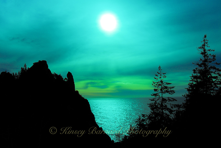 &quot;COASTAL GLOAMING&quot;<br />