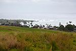 The view of Hana from the Hana Ranch Hill, below Fagan's cross.