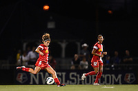 Western New York Flash midfielder Angela Salem (6). The Portland Thorns defeated the Western New York Flash 2-0 during the National Women's Soccer League (NWSL) finals at Sahlen's Stadium in Rochester, NY, on August 31, 2013.